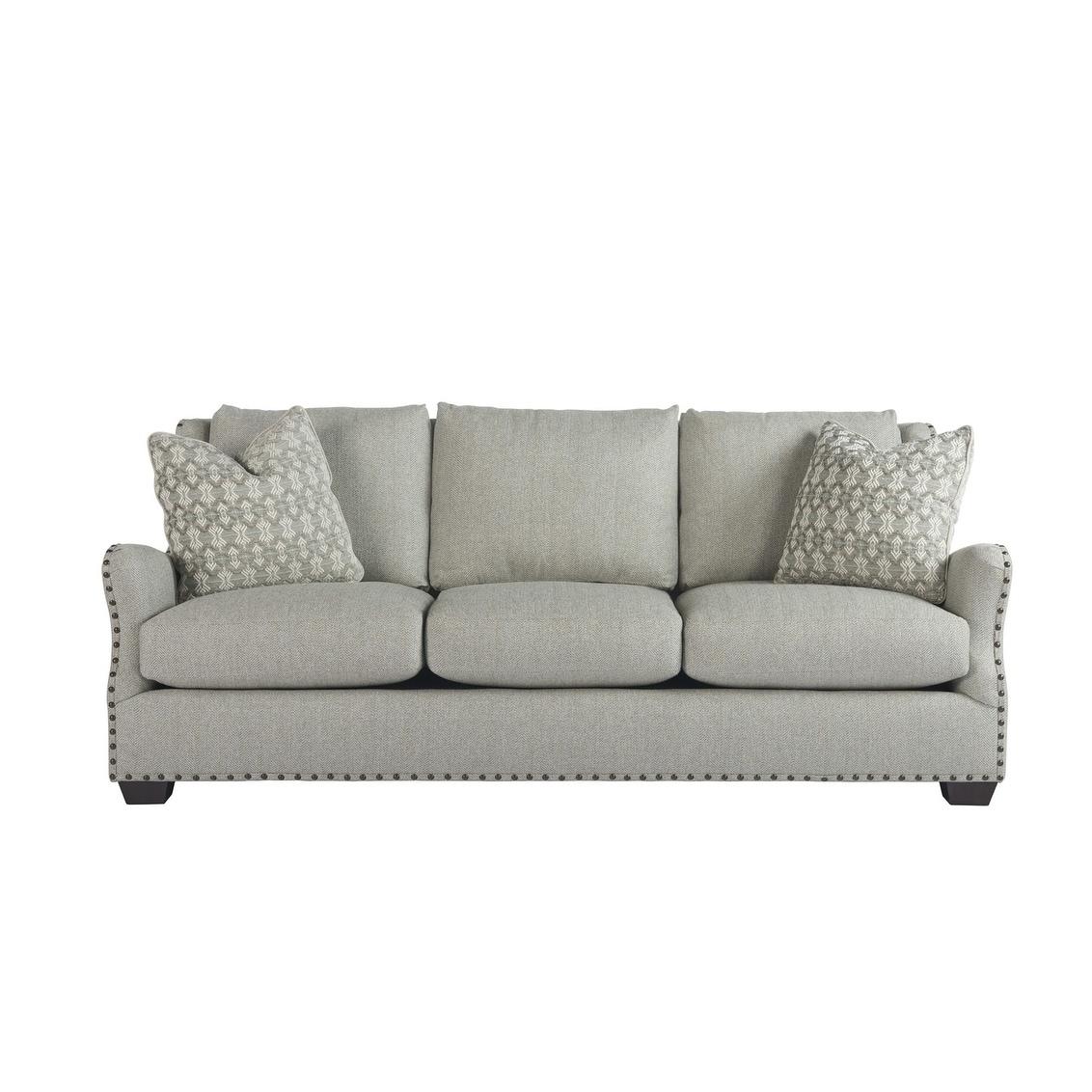 Connor Grey Linen Sofa Free Shipping Today 12792760