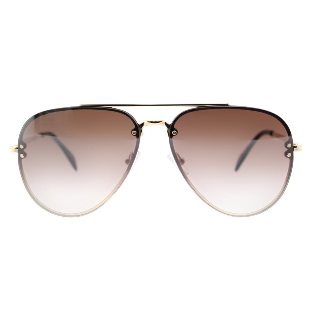 fa42e87639e Shop Celine CL 41392 Small Mirror J5G-N5 Gold Metal Brown Silver Mirror  Lens Aviator Sunglasses - Free Shipping Today - Overstock - 12801711