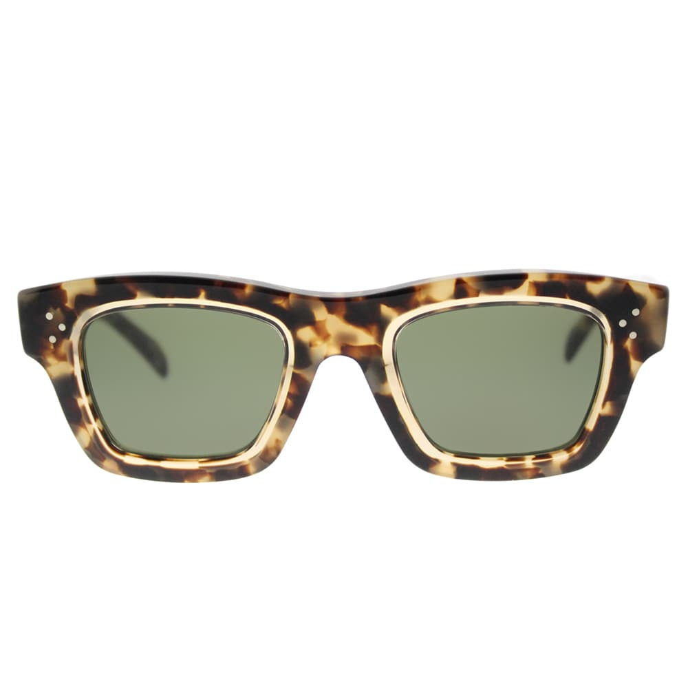 becfd9c66a3e Shop Celine CL 41396 T7H Gaby Havana Honey Plastic Green Lens Rectangle  Sunglasses - Free Shipping Today - Overstock - 12801713