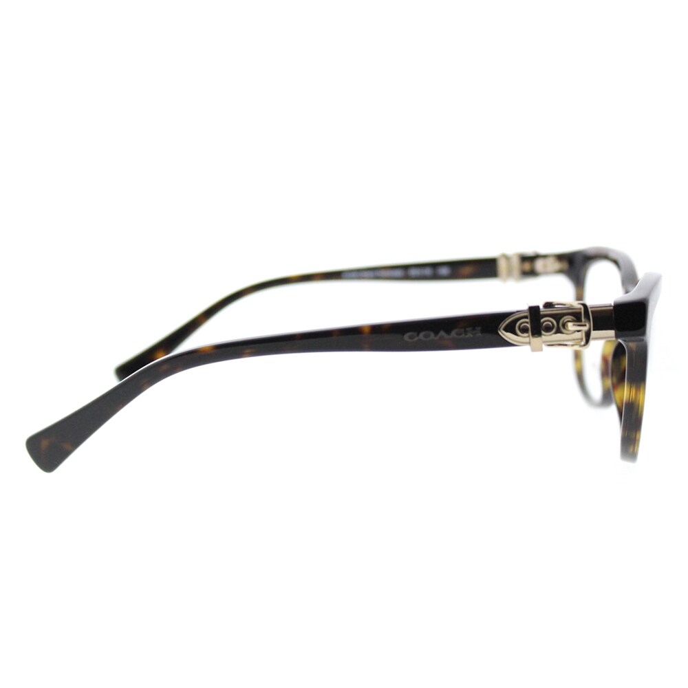 61369c8a789 Shop Coach Dark Tortoise Plastic Cat-eye 53-millimeter Eyeglasses - Free  Shipping Today - Overstock - 12801716