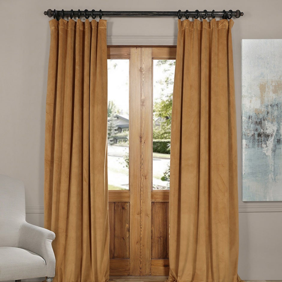 chocolate ca blackout panel dp amazon home theater curtain inch kitchen curtains absolute zero velvet