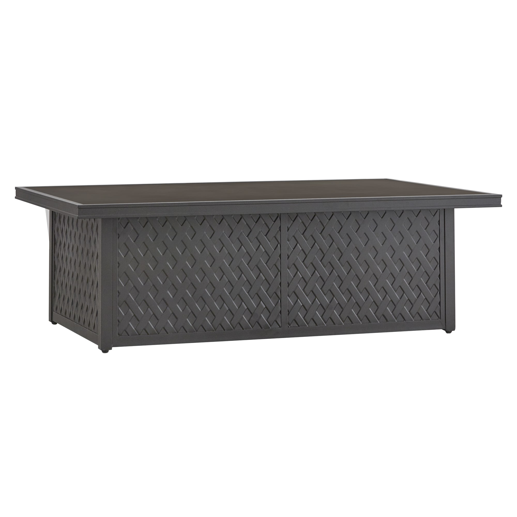 Matira Metal Outdoor Concrete Coffee Table INSPIRE Q Oasis   Free Shipping  Today   Overstock.com   19573559
