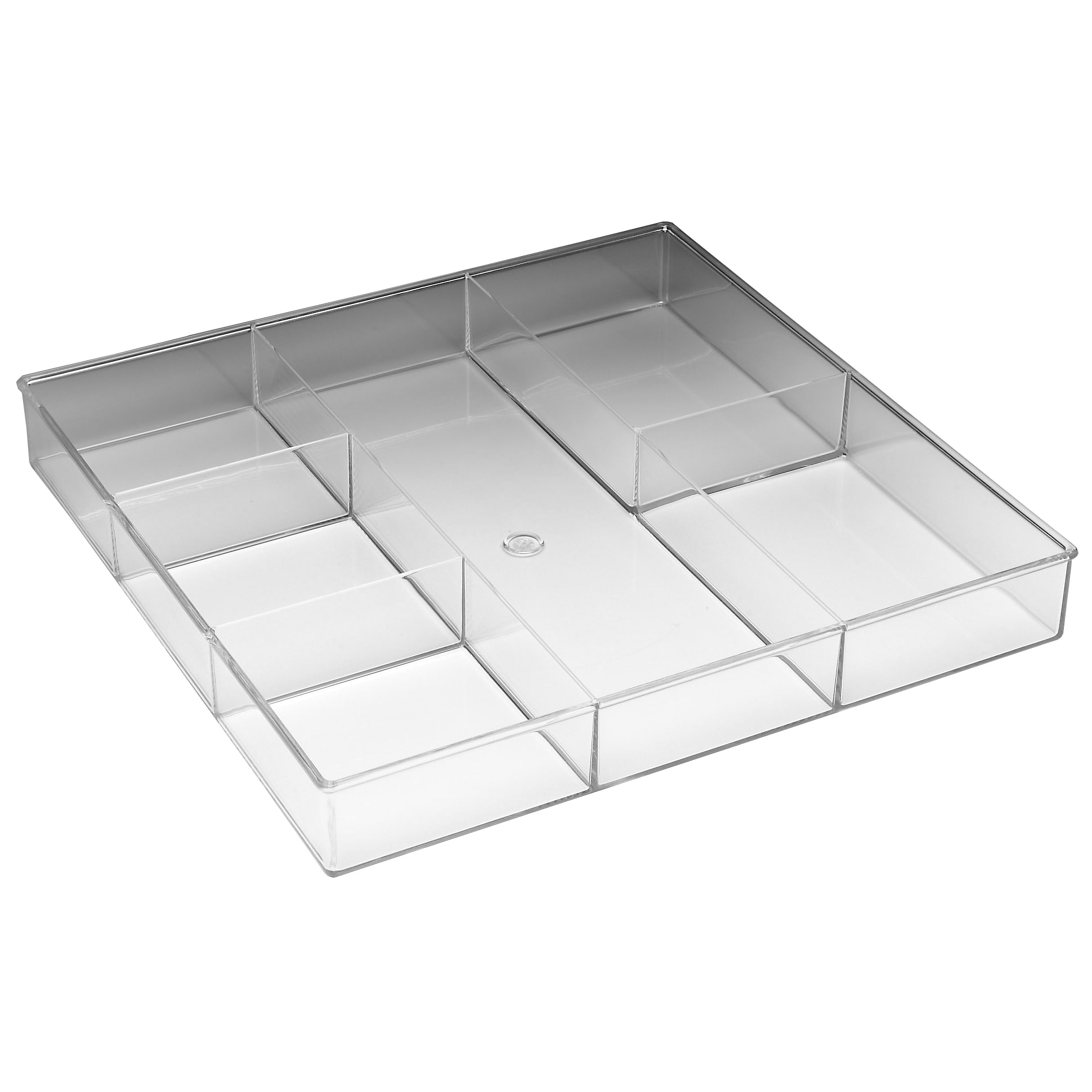 Shop Whitmor 6789-3065 6 Section Clear Drawer Organizer - Free ...