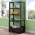 Delta Children Dark Chocolate Ladder Shelf