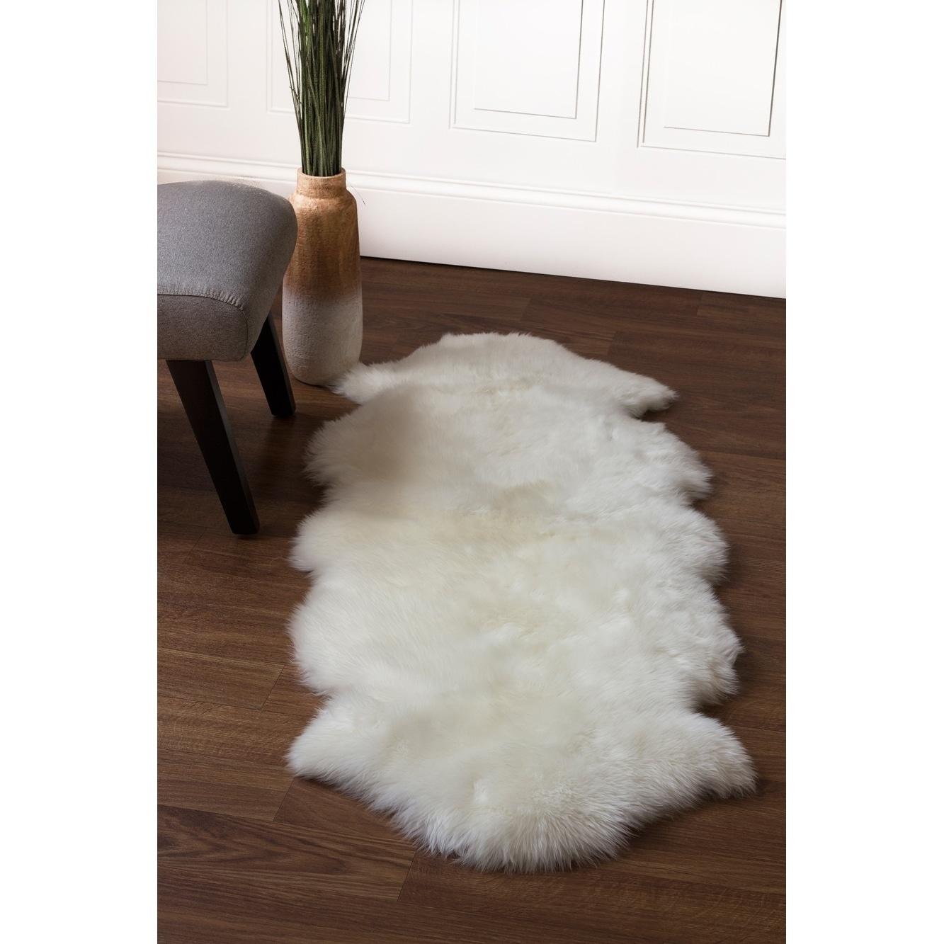Genuine Soft Australian Sheepskin Rug Free Shipping Today 12807699