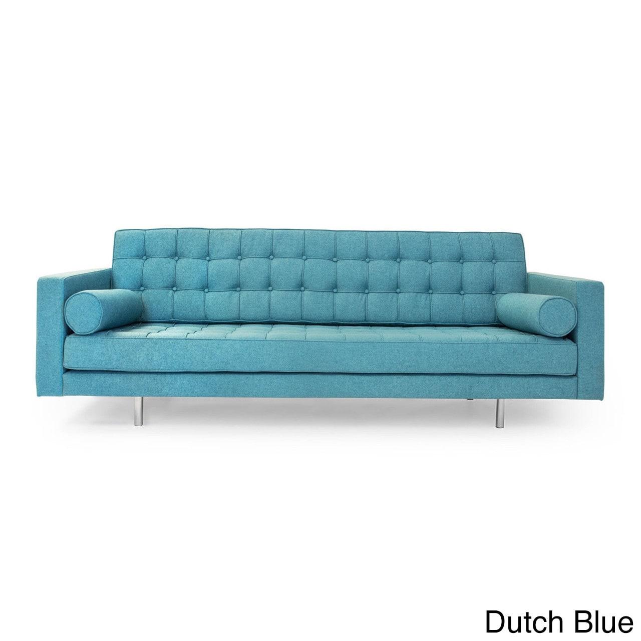 Shop Kardiel Madison Mid-Century Modern Premium Fabric Upholstery ...