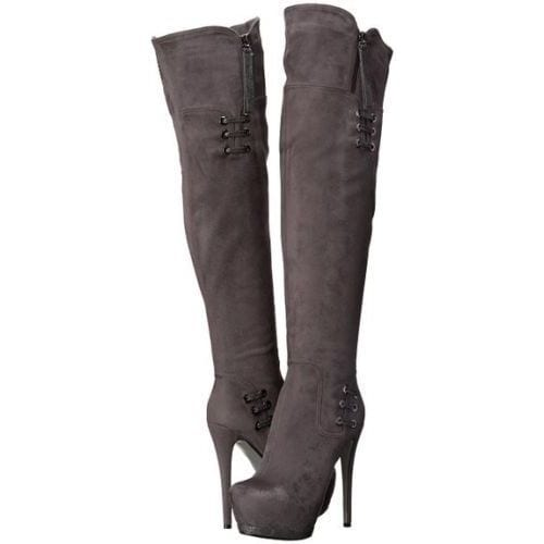 5950e0e308c Shop Luichiny Women s May La High-Heel Platform Over-the-Knee Boots - Ships  To Canada - Overstock - 12818024