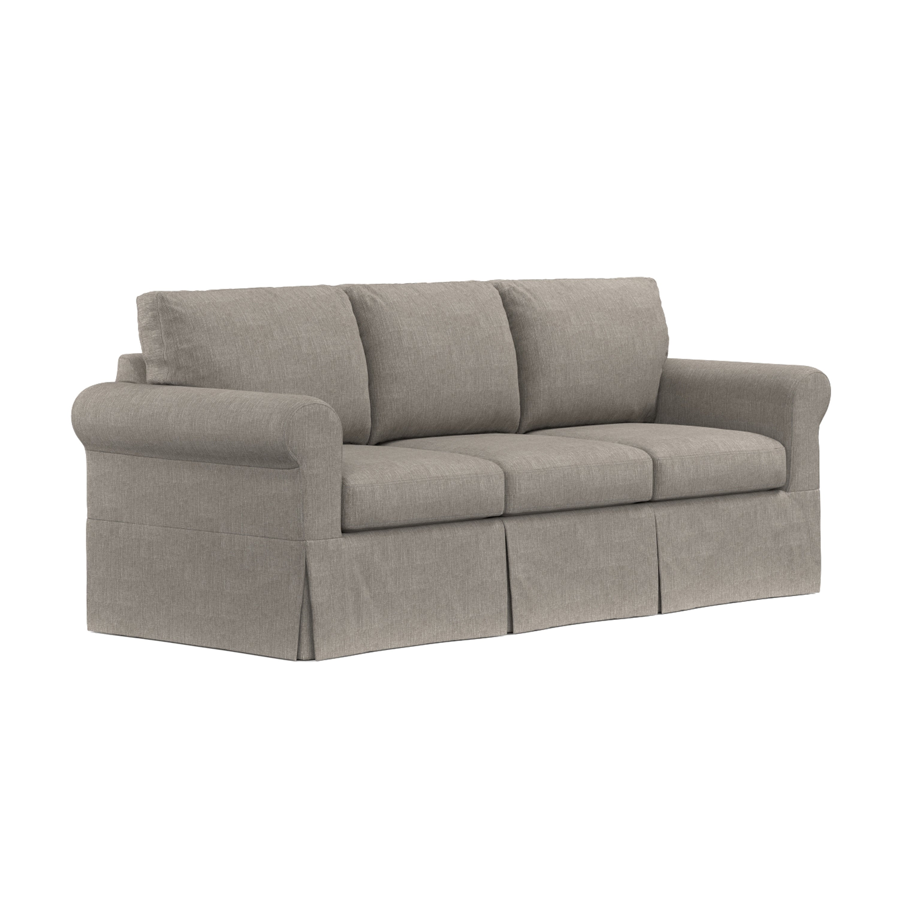 Handy Living Undercover Custom Bella Sofast Sofa With Skirted Slipcover On Free Shipping Today 12818175