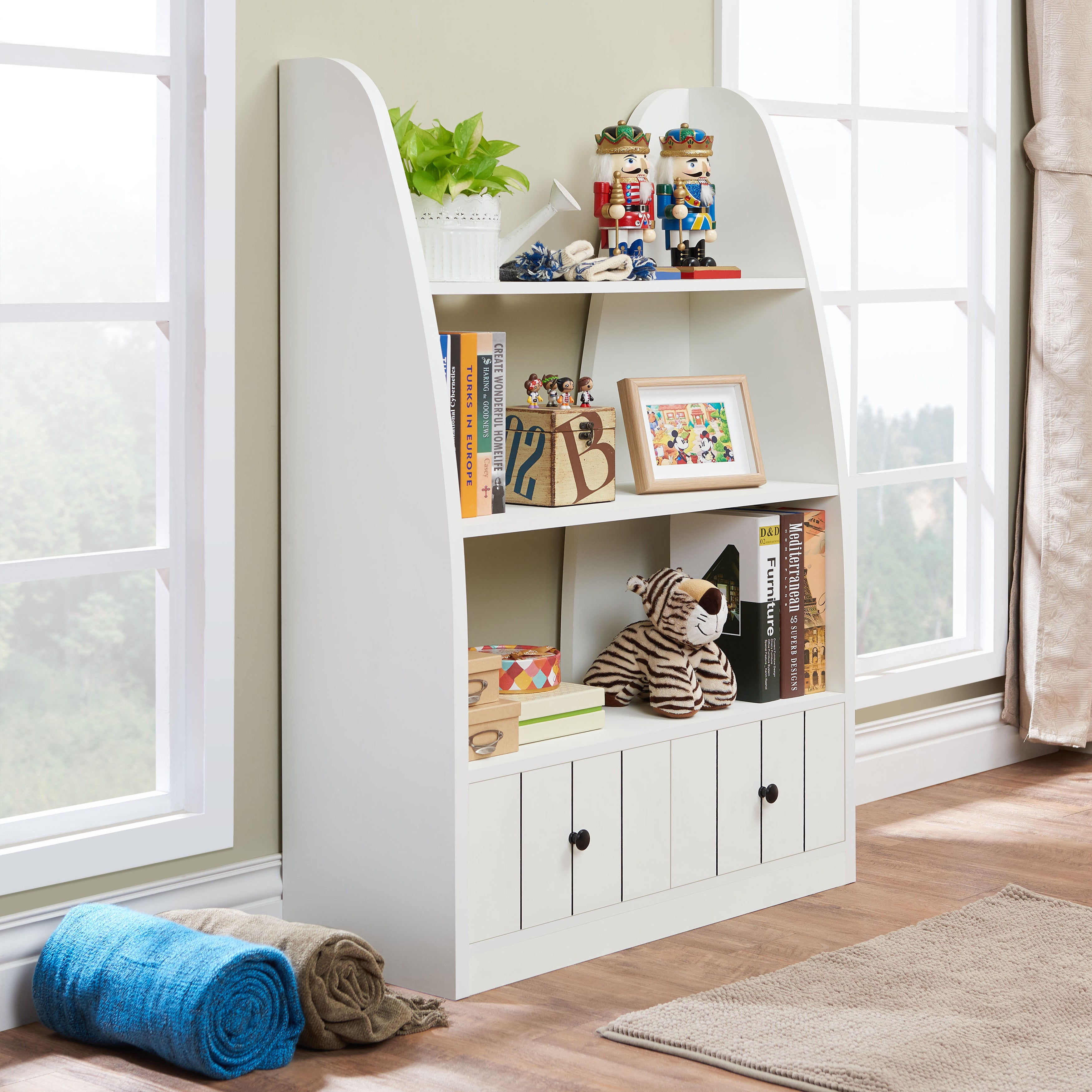 barrister cottage sauder bookcase products lane tall bookcases