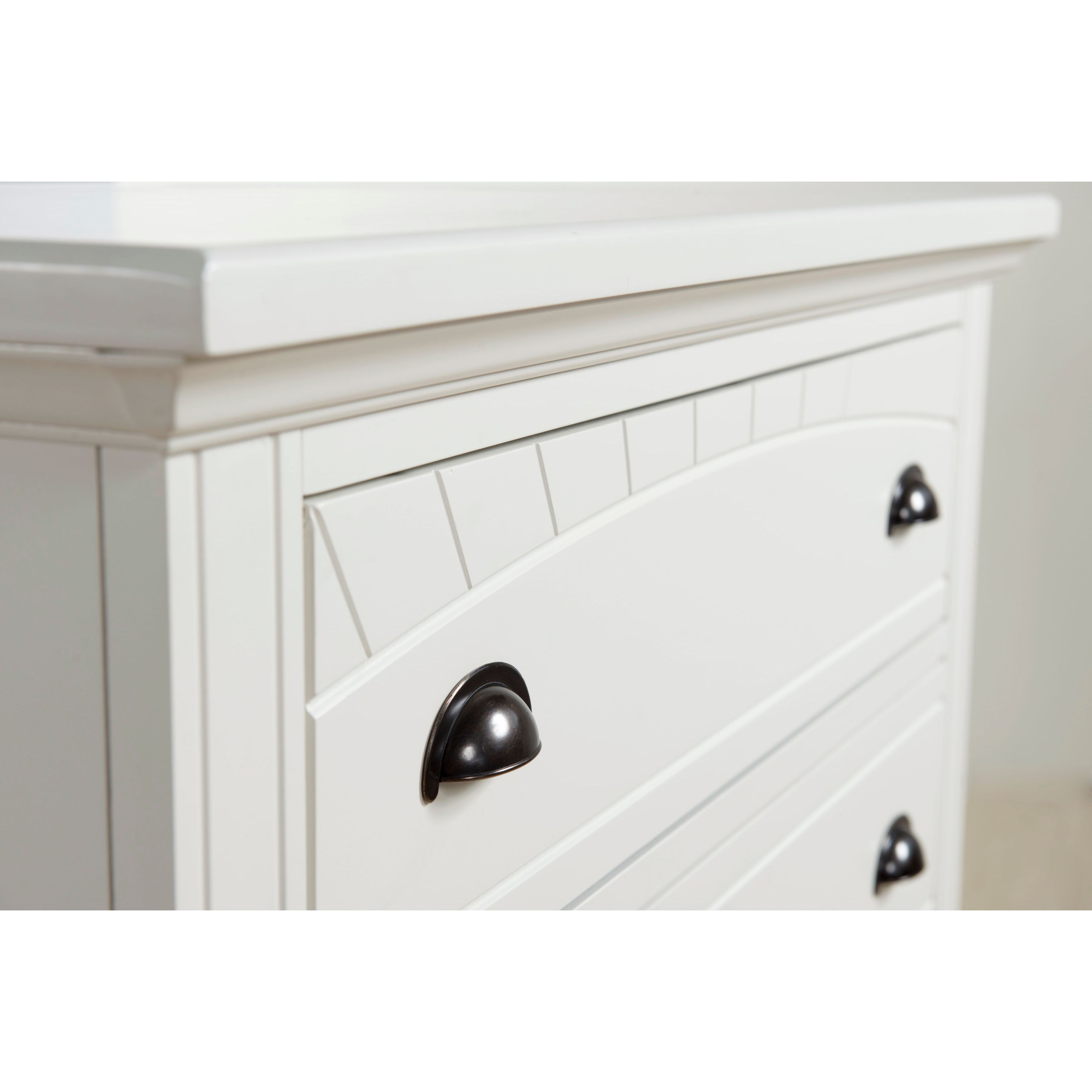 acd1d93a15cd0 Shop Picket House Furnishings Addison White King Panel 6PC Bedroom Set -  Free Shipping Today - Overstock - 12819449