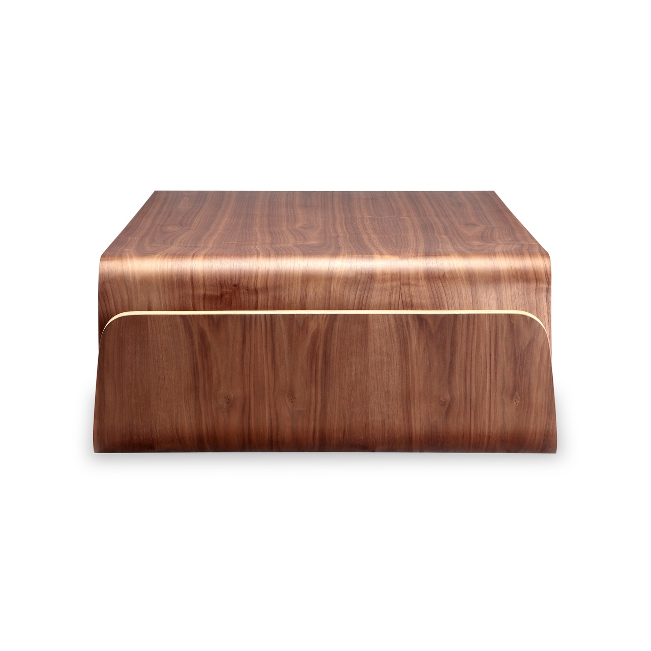 Shop Kardiel Scando Walnut Wood Midcentury Coffee Table Free - Scando coffee table