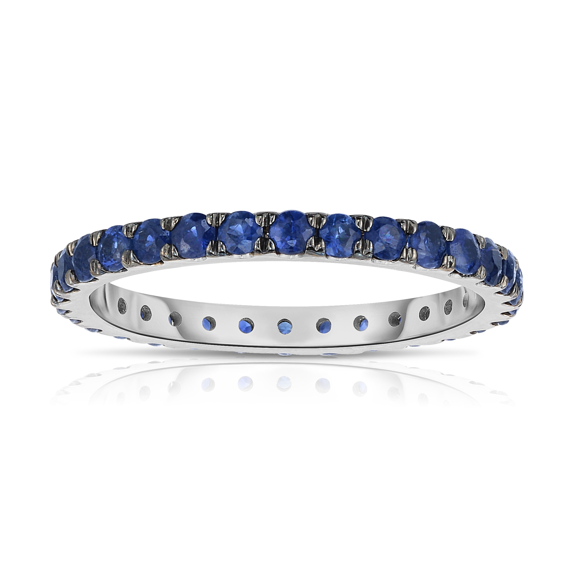 fullxfull tone blue textured italian halo eternity bands engagement il accents sapphire gold products ring band wedding two style natural