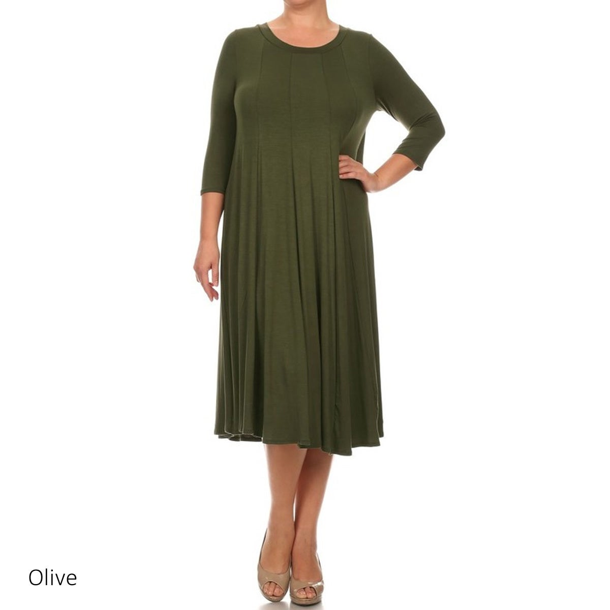 Cheap Plus Size Midi Dresses – DACC