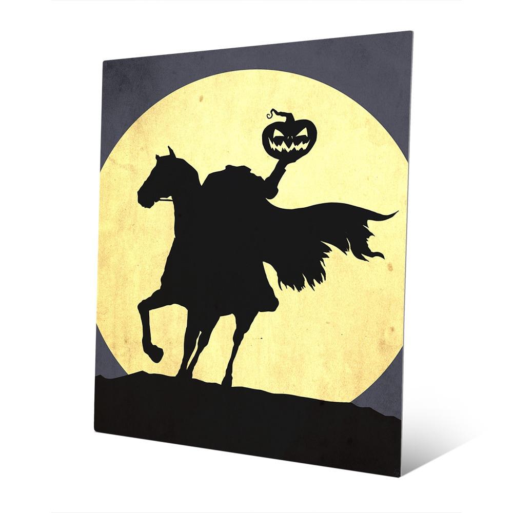 Shop Headless Horseman Metal Wall Art - On Sale - Free Shipping ...