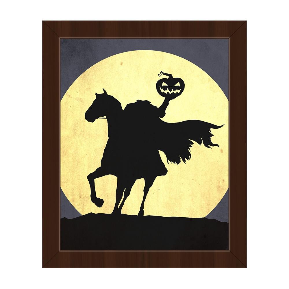 Shop \'Headless Horseman\' Framed Canvas Wall Art - On Sale - Free ...