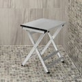 Folding Aluminum Shower Stool