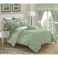 Chic Home Potterville 20-Piece Bed-In-A-Bag Green Comforter Set