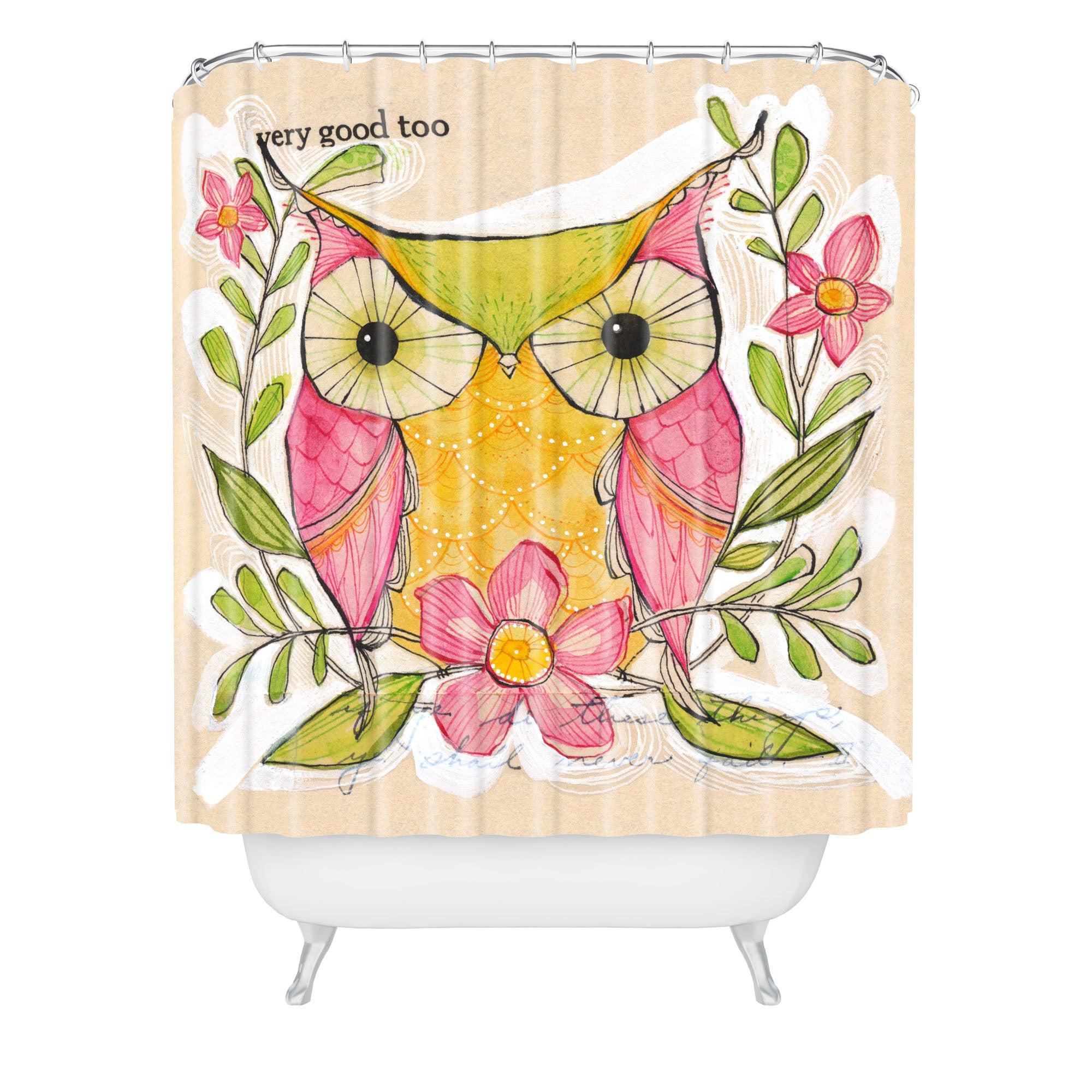Cori Dantini Very Good Shower Curtain Free Shipping Today 12839676