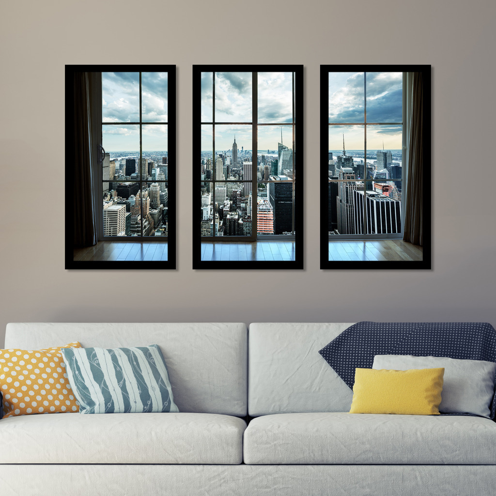 New york window framed plexiglass wall art set of 3 free new york window framed plexiglass wall art set of 3 free shipping today overstock 19614617 jeuxipadfo Gallery