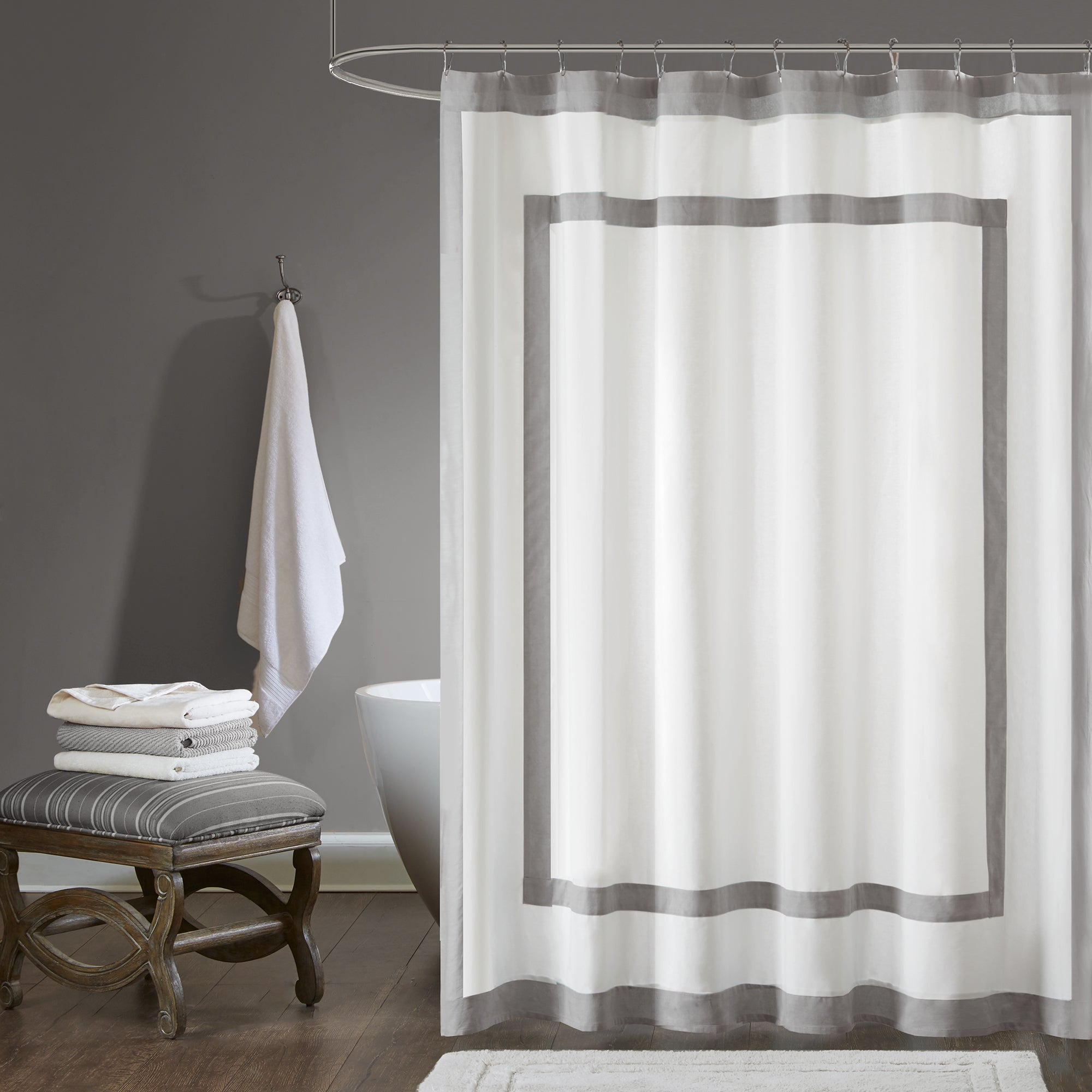 curtain kohls blue full size gray of liner grey shower and linen sets royal bright set curtains walmart