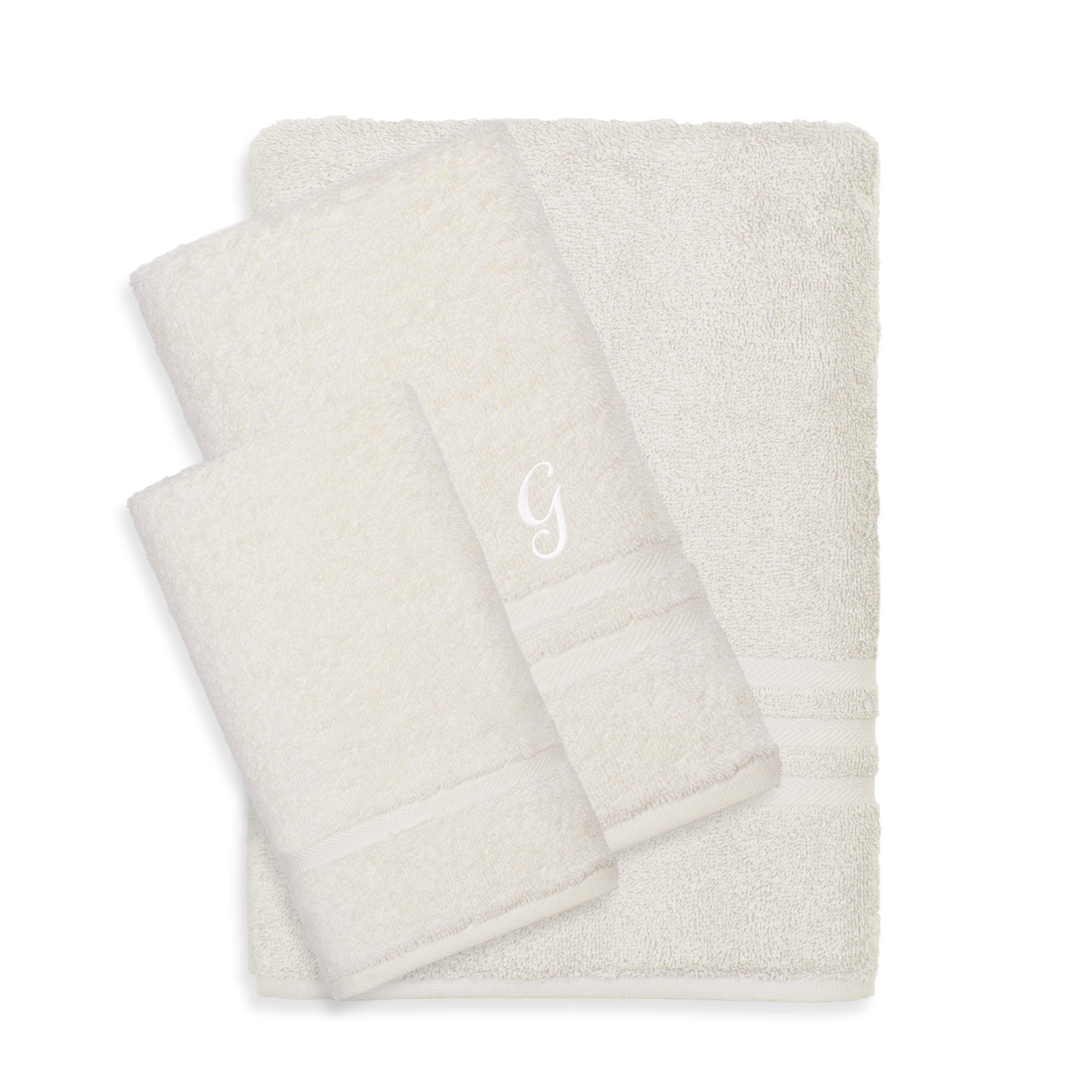 Authentic Hotel and Spa Omni Turkish Cotton Terry 3-piece Cream Bath ...