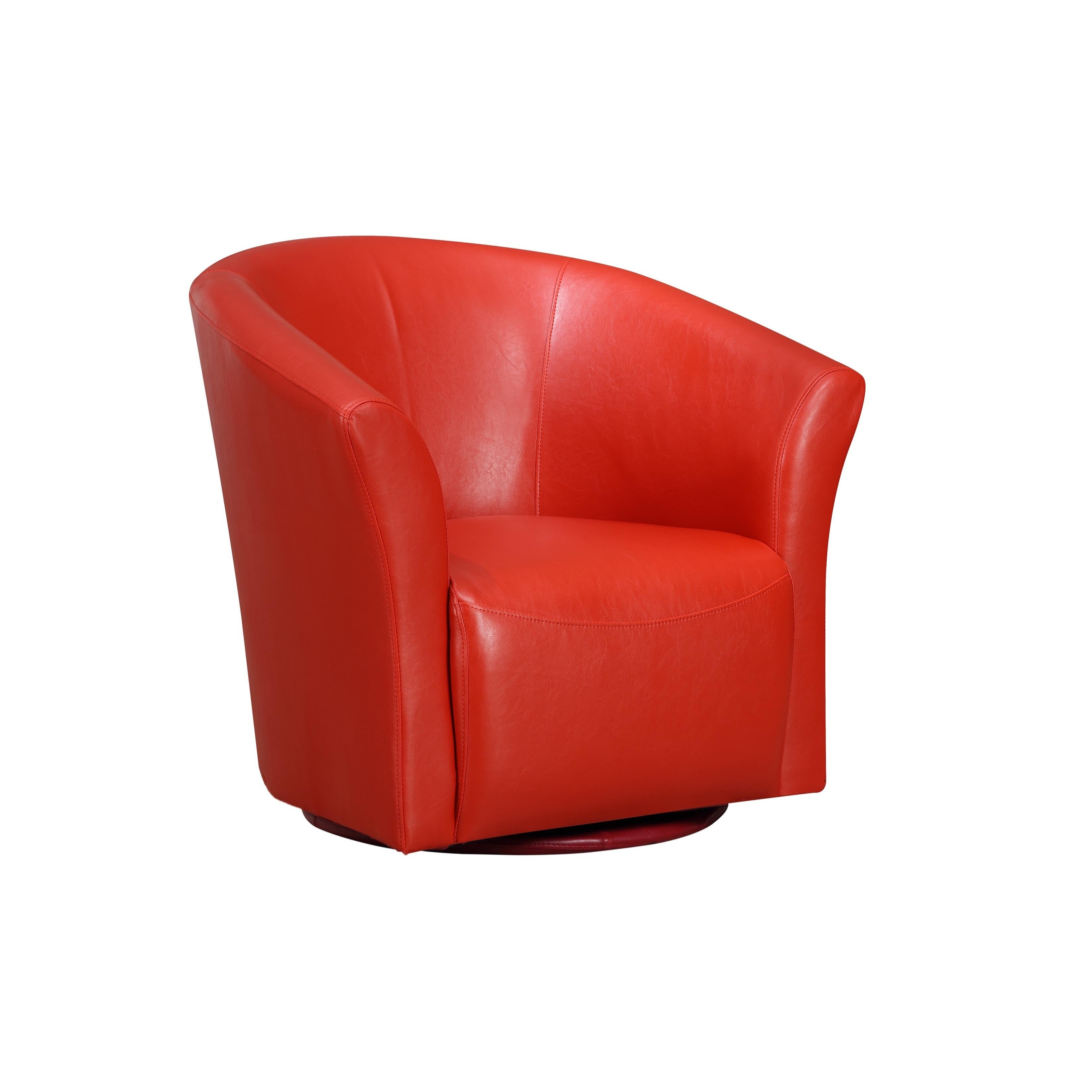 Attirant Shop Picket House Radford Swivel Chair Riviera 6273 Red   Free Shipping  Today   Overstock.com   12853008