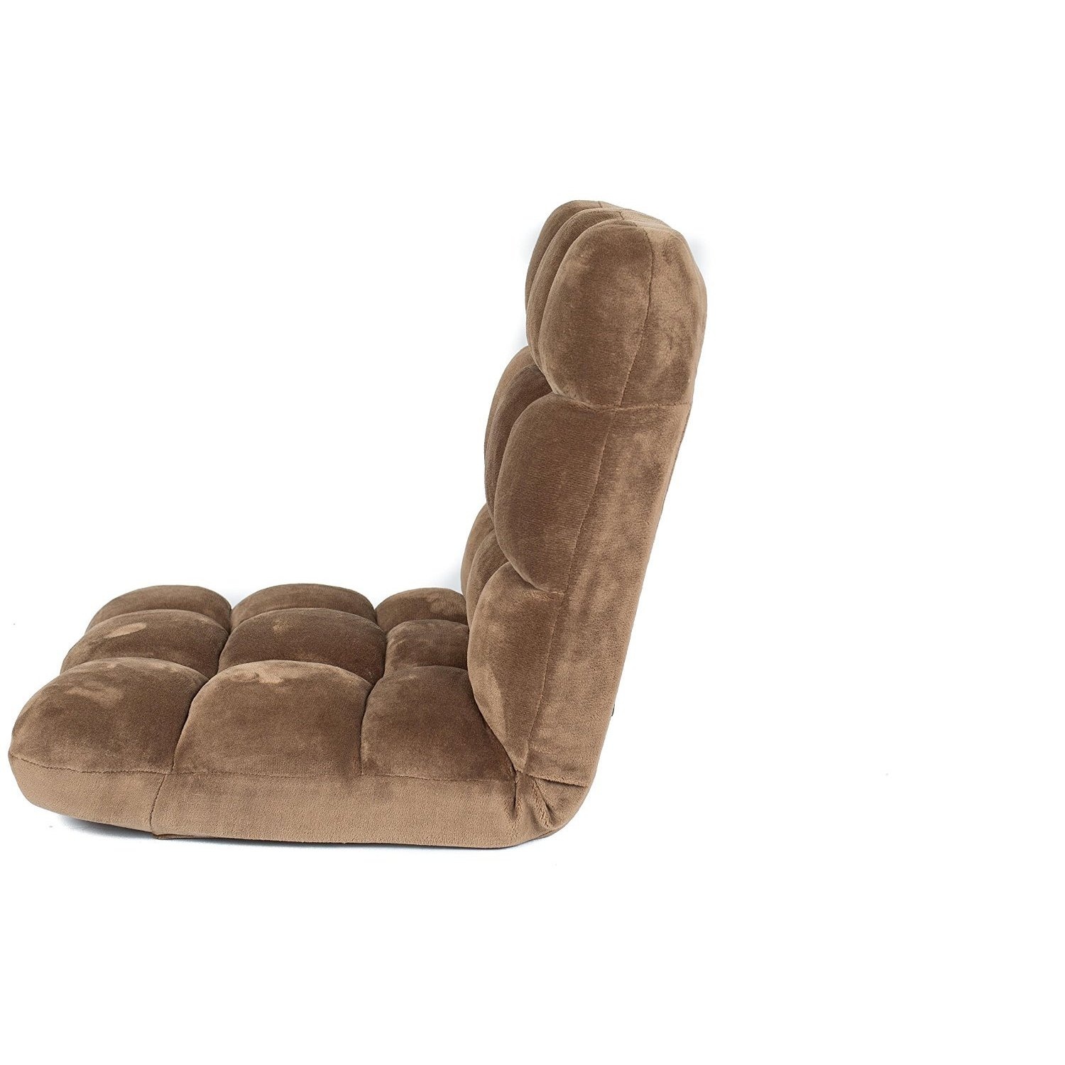 Shop BirdRock Home Brown Microfiber Memory Foam Plush Floor And Gaming Chair    Free Shipping Today   Overstock.com   12853482