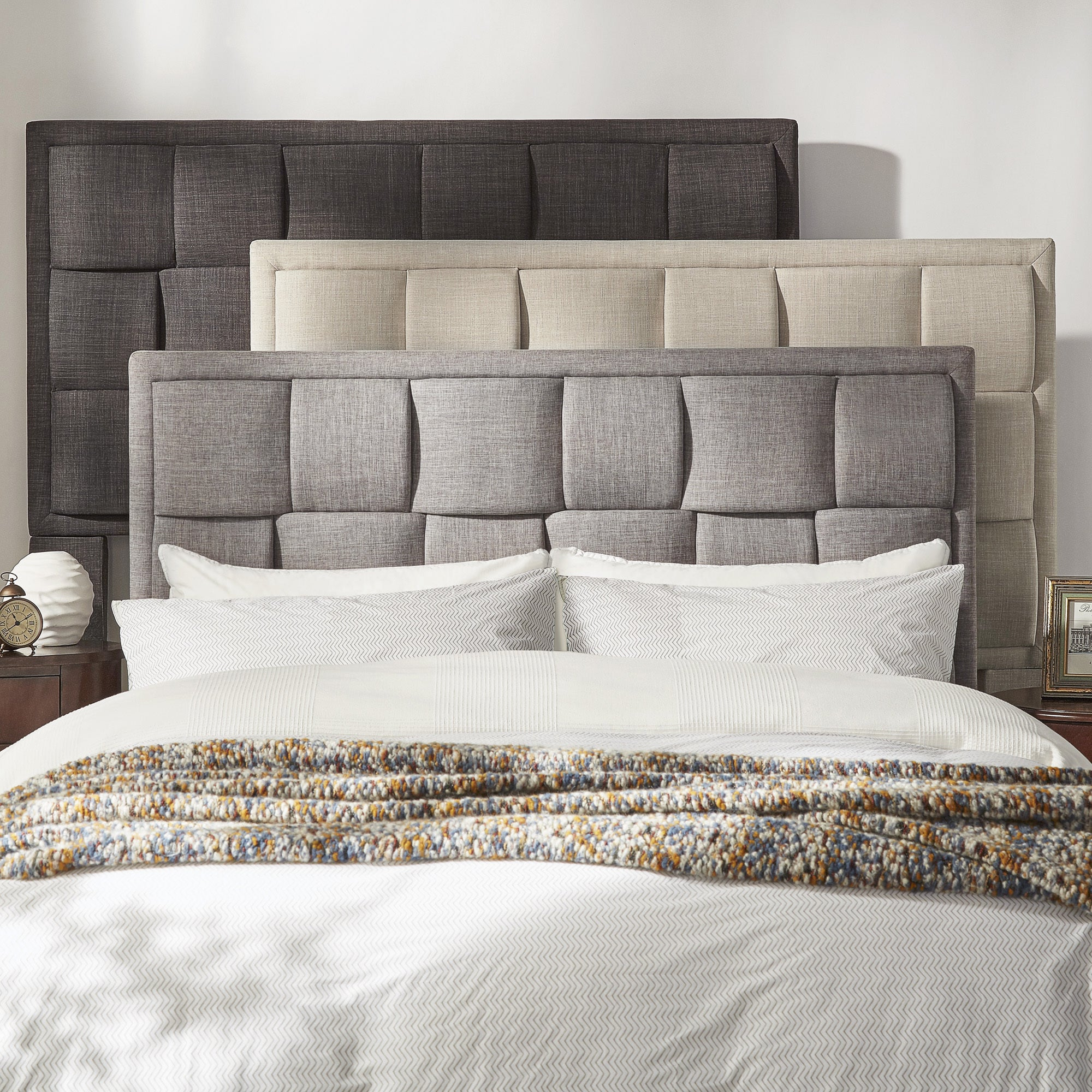 Porter Linen Woven Upholstered Headboard by iNSPIRE Q Classic - Free  Shipping Today - Overstock.com - 19616803