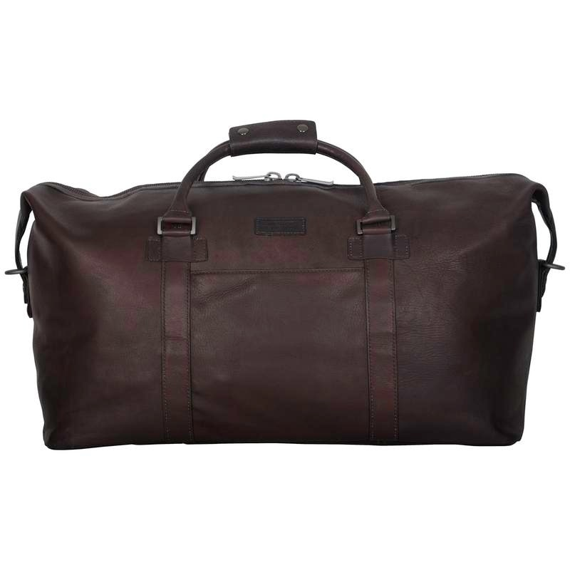 b74e80cfd Shop Kenneth Cole Reaction Colombian Leather 20in Single Compartment  Carry-On Travel Duffel Bag - Free Shipping Today - Overstock - 12863809