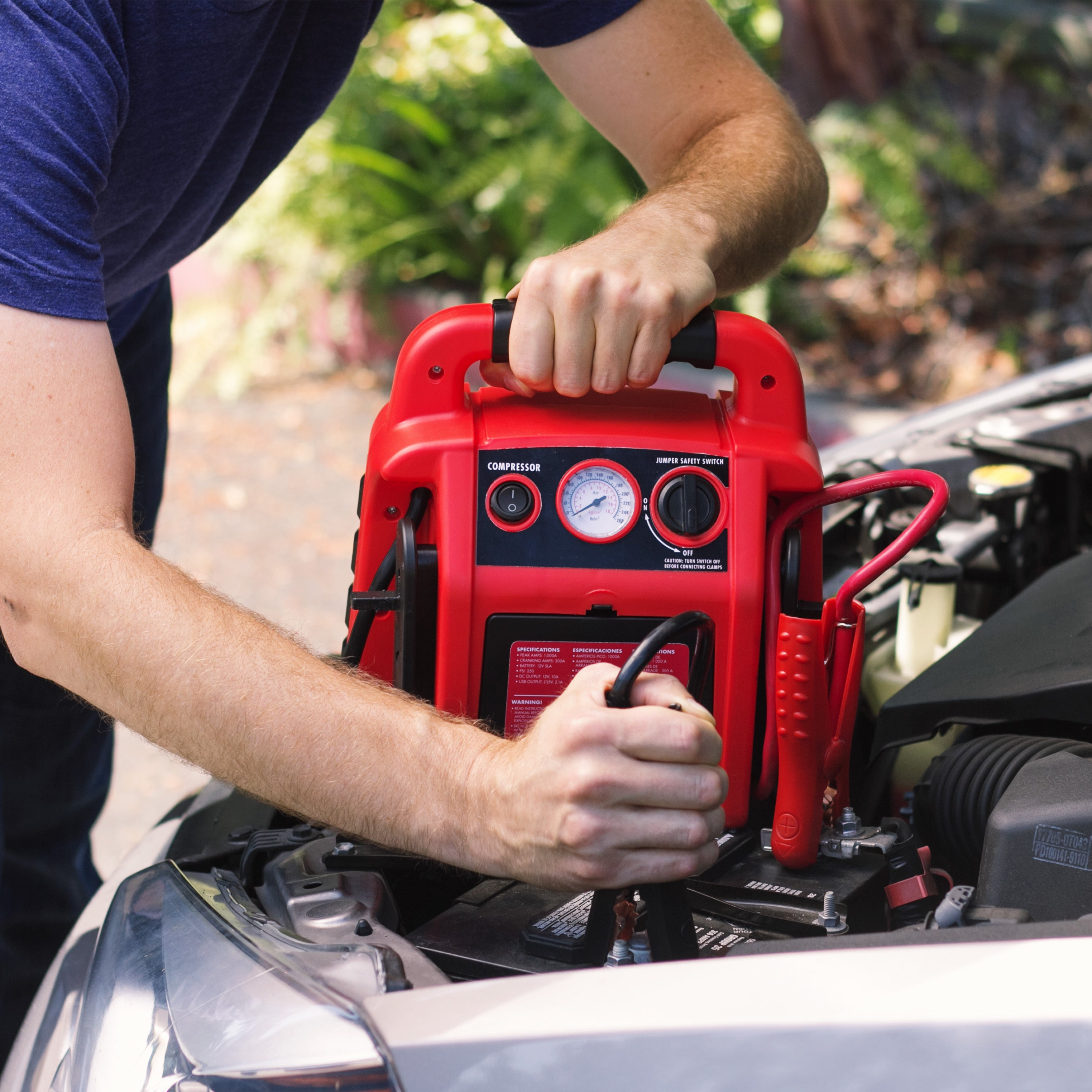 Shop Wagan Jumpboost Jump Starter Free Shipping Today Overstock