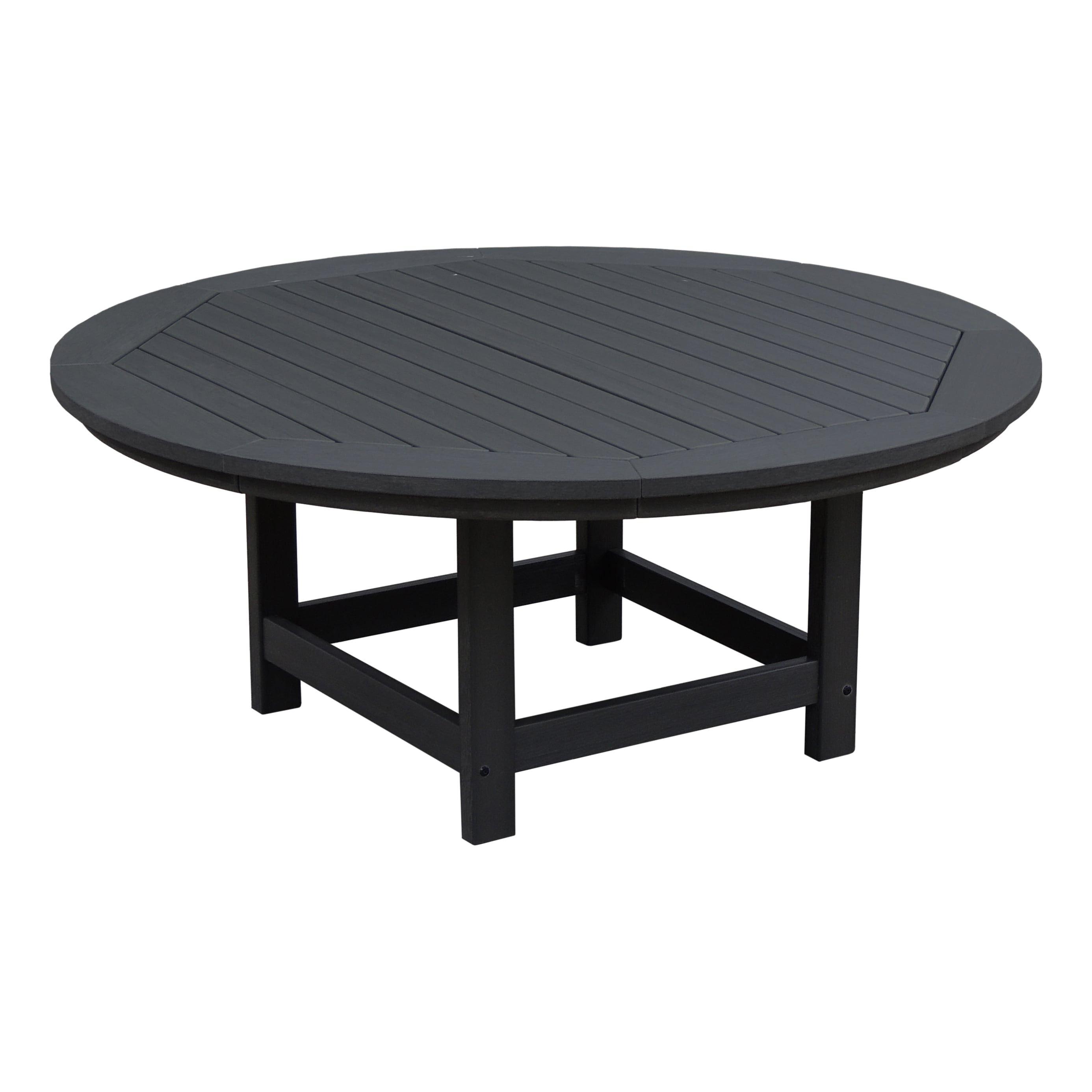 Highwood Eco Friendly Round 48u0026quot; Conversation/ Coffee Table
