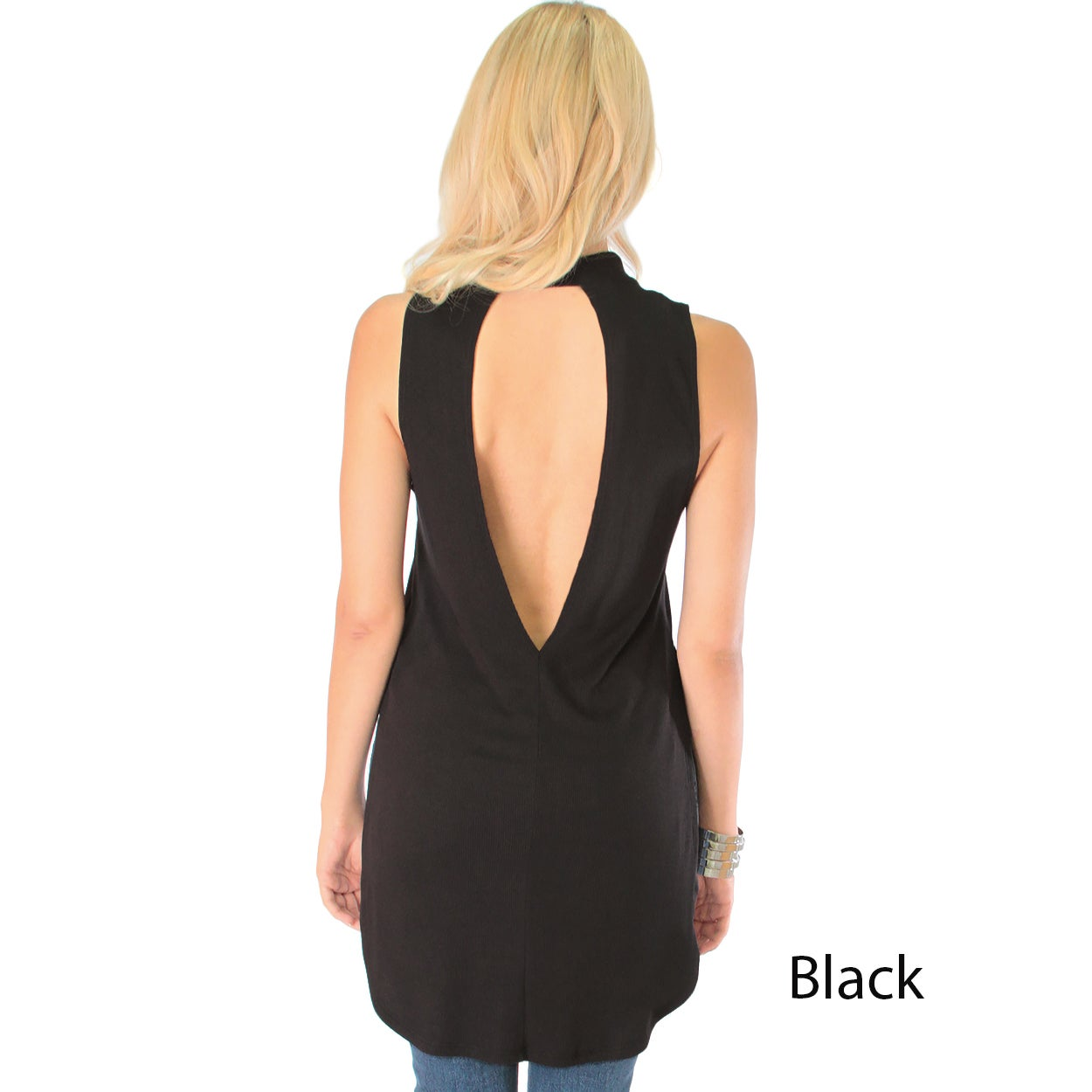 6a592ac997 Shop Flirting with Danger Women s Ribbed Cutout Top - Free Shipping On  Orders Over  45 - Overstock.com - 12872977