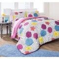 Formula Engraved Floral 7-piece Bed in a Bag Set