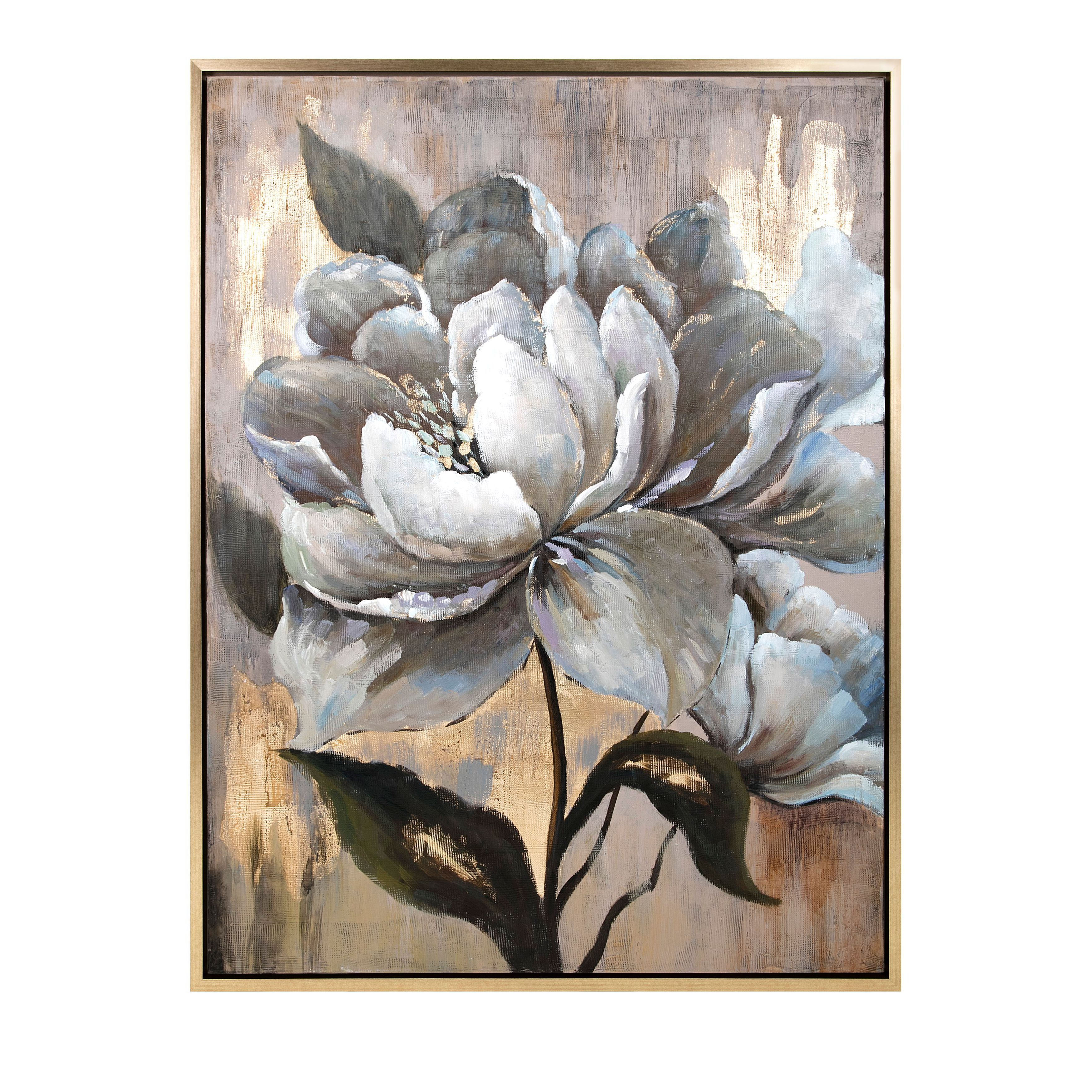 Herbaceous Framed Oil Painting - Free Shipping Today - Overstock ...