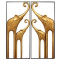 Stratton Home Decor 2-piece Elephant Panels Wall Decor Set