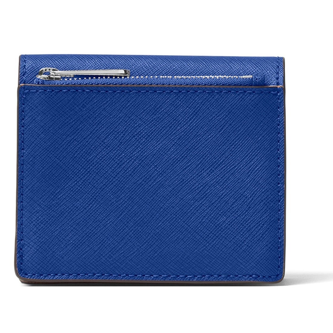 3e7cafb4a9a0 Shop Michael Kors Jet Set Travel Electric Blue Carryall Card Case Wallet -  Free Shipping Today - Overstock - 12876295