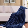 Bedsure Warm Cozy Flannel Couch and Bed Throw Blanket