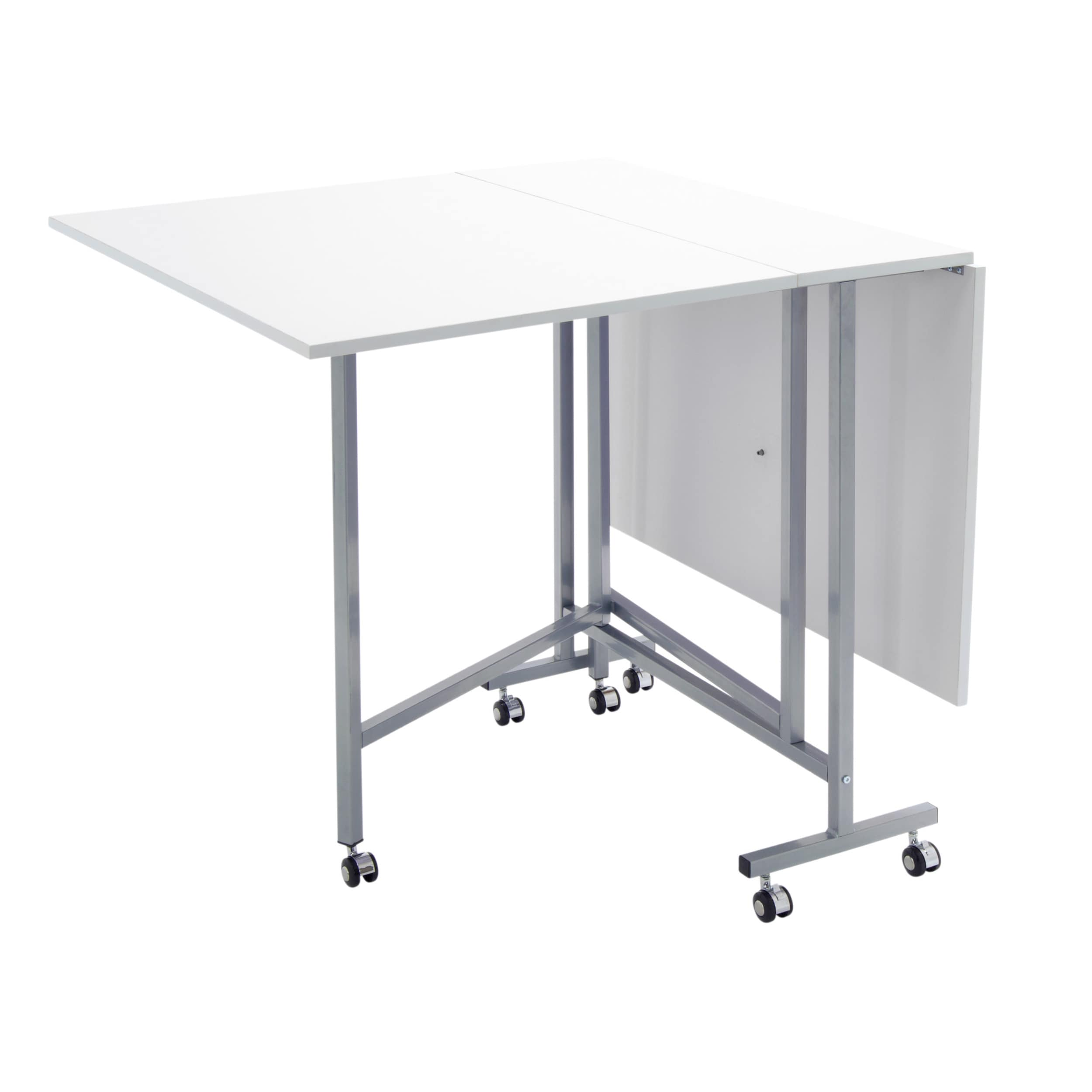 Charmant Shop Studio Designs White Powder Coated Craft And Cutting Sewing Table    Free Shipping Today   Overstock.com   12884533