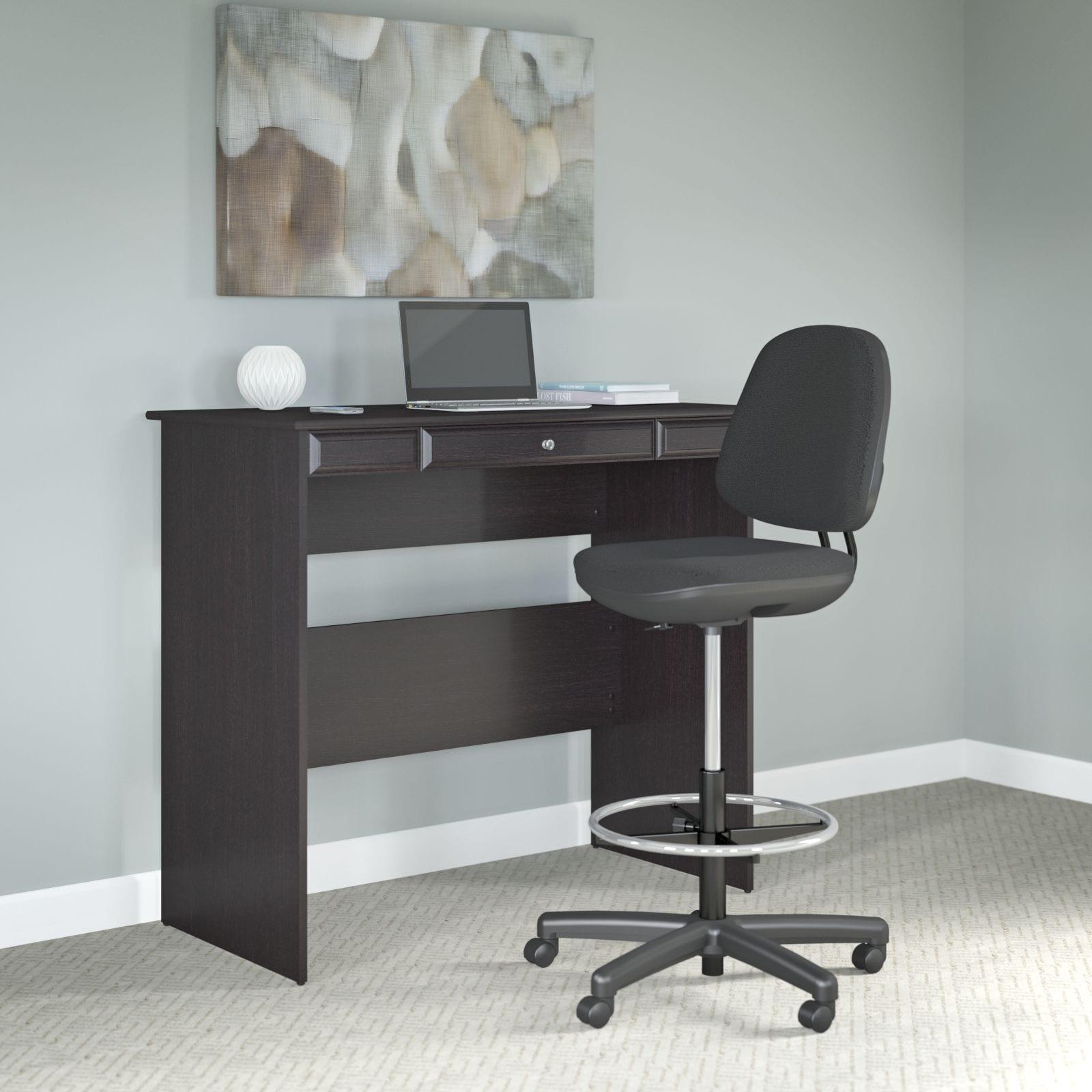 Cool Bush Business Furniture Black Adjustable Stool Ncnpc Chair Design For Home Ncnpcorg