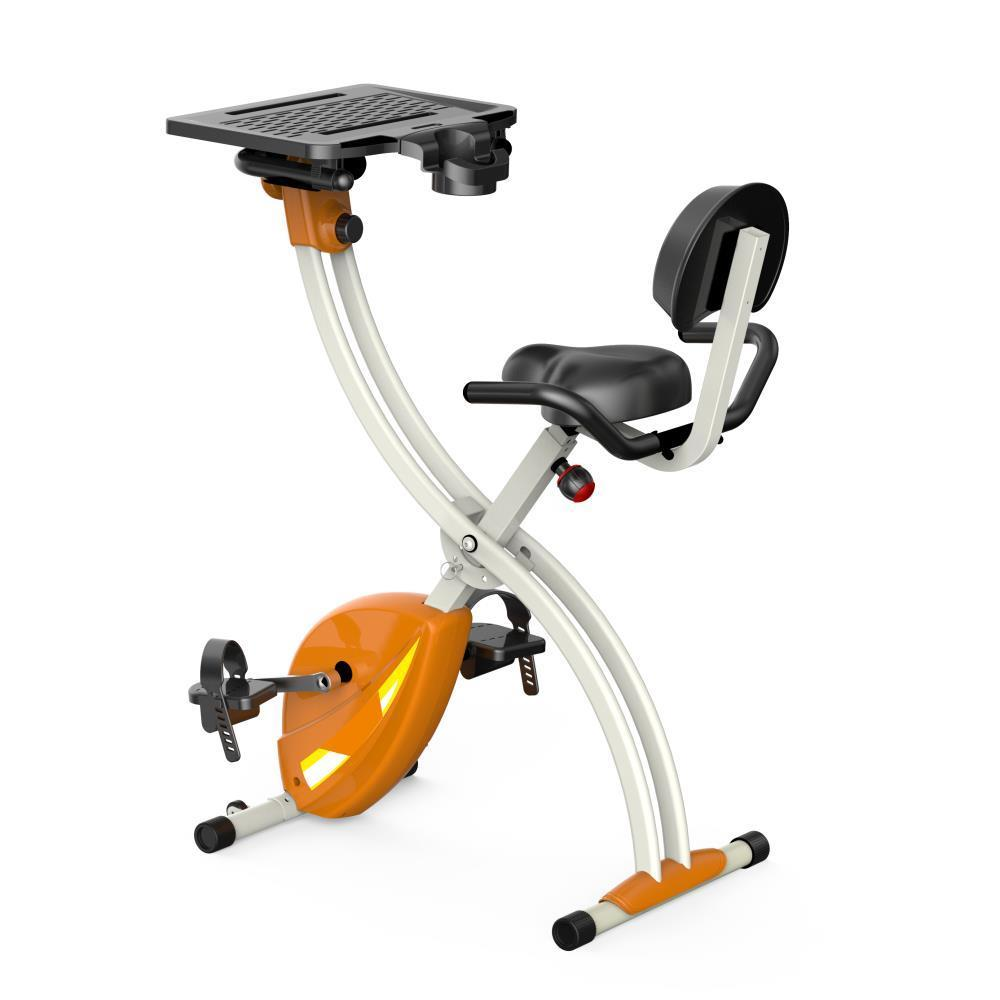186425e9b90 Shop SereneLife SLXB2 Home Office Upright Exercise Bike with Laptop Tray -  Free Shipping Today - Overstock - 12887855