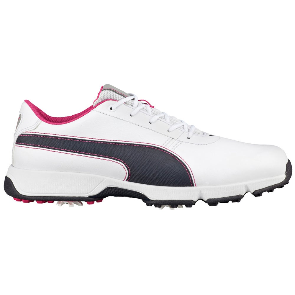 Shop PUMA Ignite Drive Golf Shoes 2016 White Periscope Beetroot - Free  Shipping Today - Overstock - 12888775 ba274e185