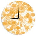 "Kess InHouse Anchobee ""Summer"" Wall Clock 12"""