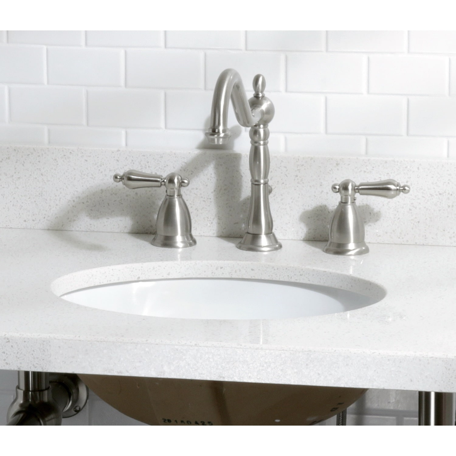 Shop White Quartz 30 Inch Vanity Top With Undermount Sink   Free Shipping  Today   Overstock.com   12898541