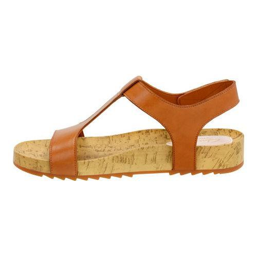 4de59e915b3 ... Thumbnail Women  x27 s Clarks Zelby Zena T Strap Sandal Tan Leather