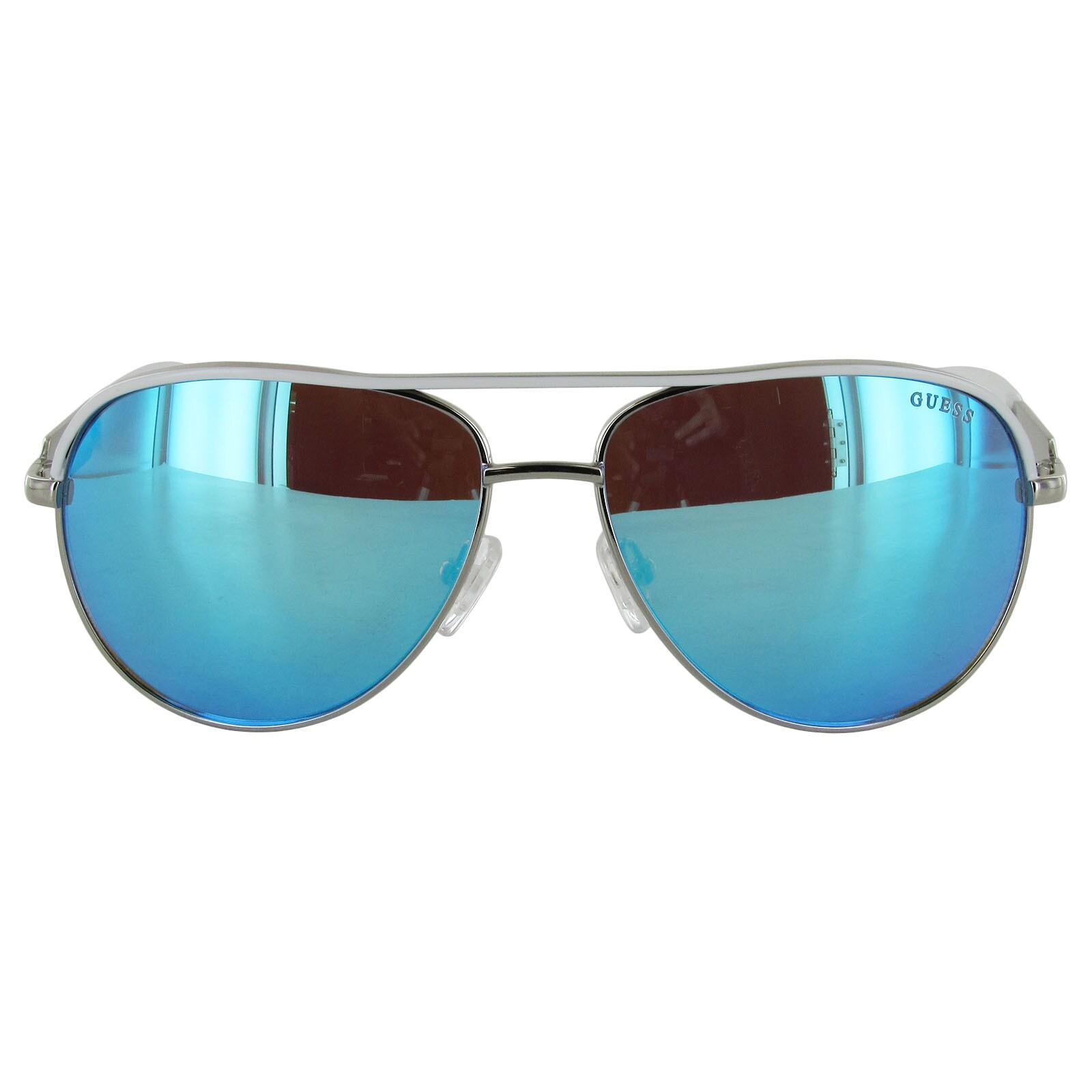 Shop Guess Womens GF0287 Wire Frame Aviator Fashion Sunglasses ...