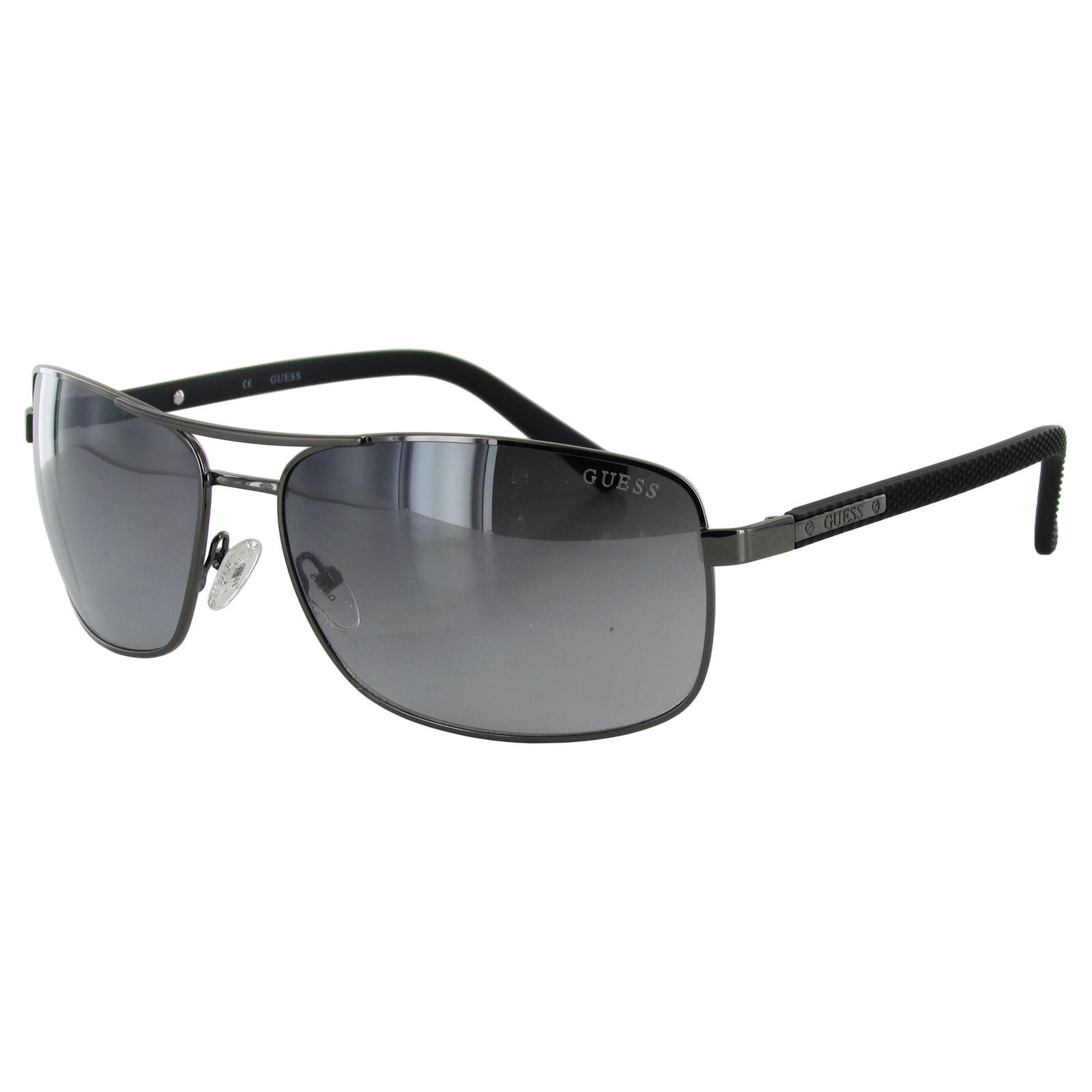 Guess Mens GU6835 Rectangular Wire Rim Sunglasses - Free Shipping On ...