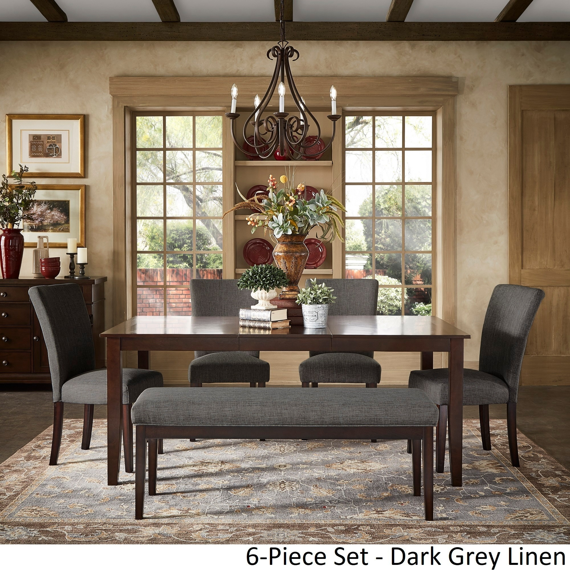 Shop Pranzo Rectangular 72 Inch Extending Dining Table And Set With