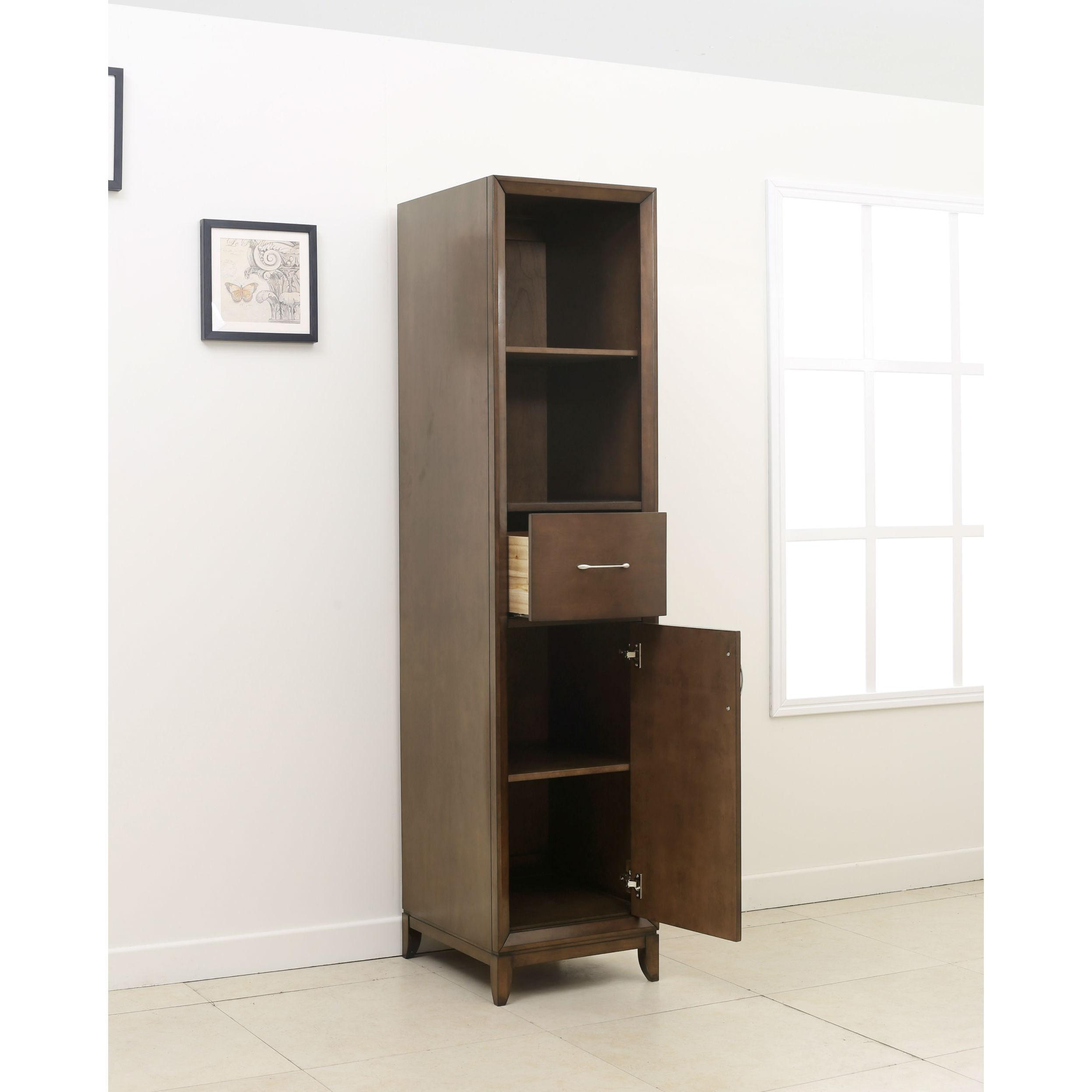 Shop Legion Furniture Brown 3-piece Bathroom Vanity Set - Free ...