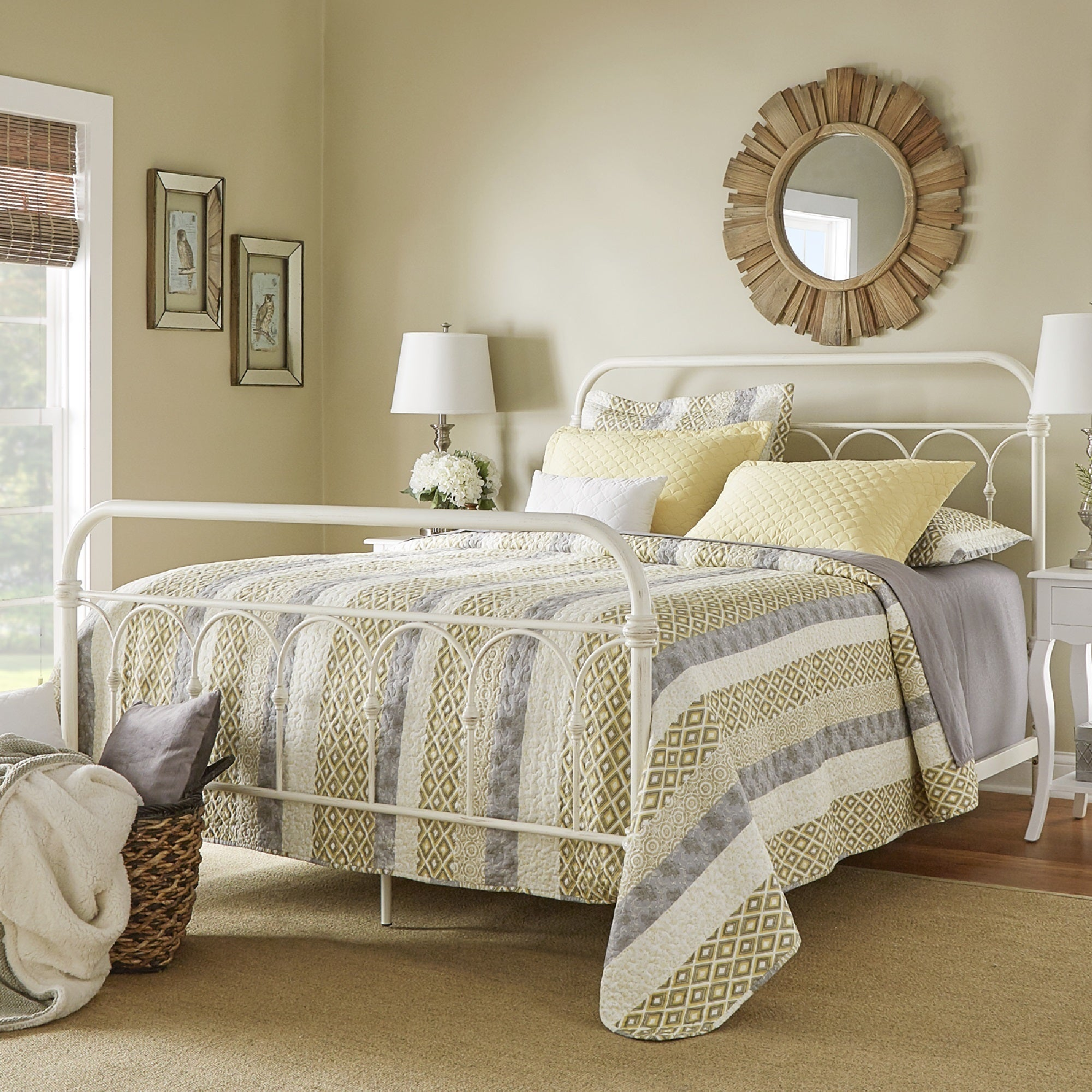 Mercer Casted Knot Metal Bed by iNSPIRE Q Classic - Free Shipping Today -  Overstock.