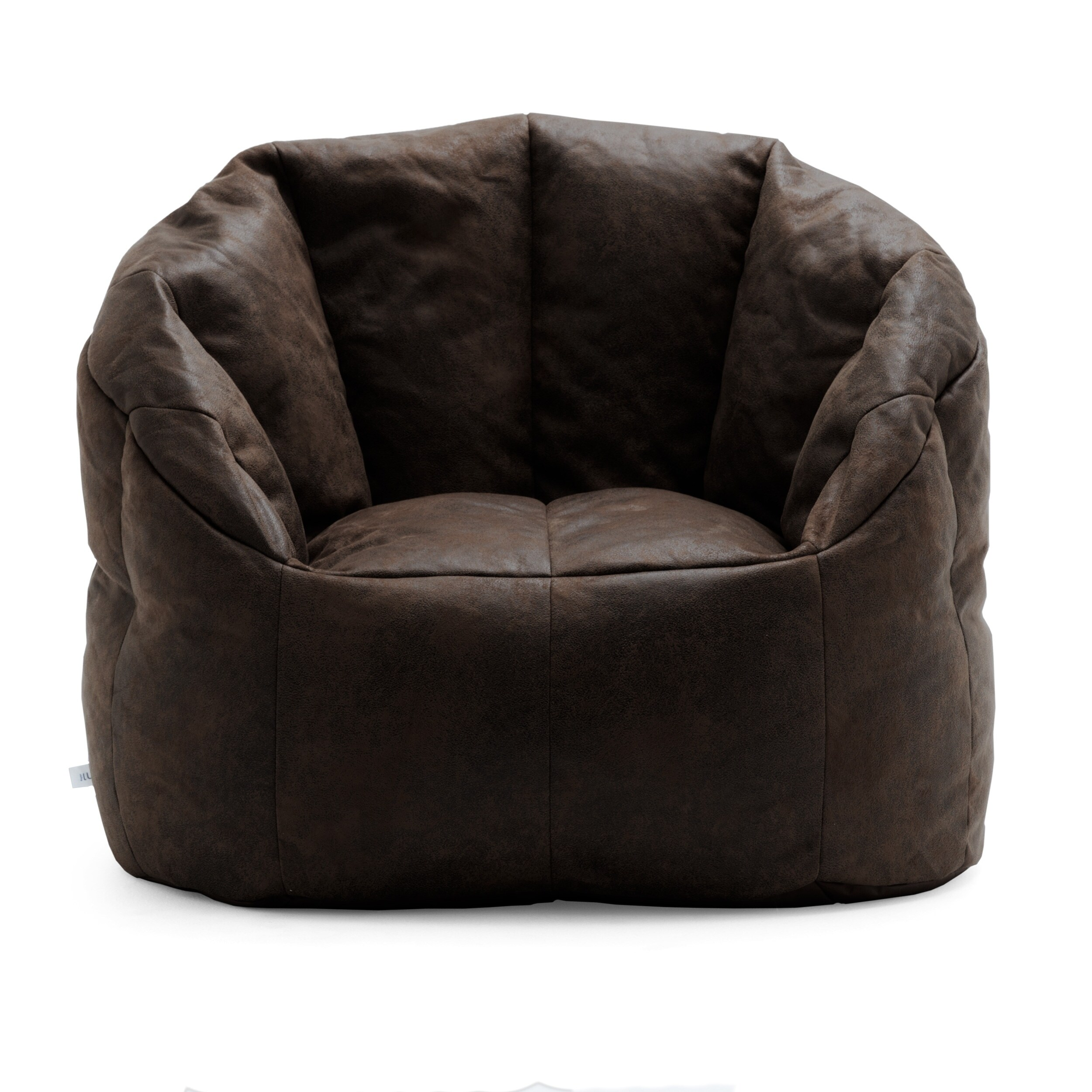 Big Joe Lux Large Milano Blazer Bean Bag Chair, Multiple